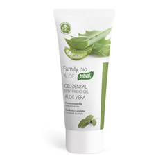 Dentifricio Gel Aloe vera Bio 75ml santiveri