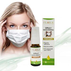 spray mascherina igienizzante flora